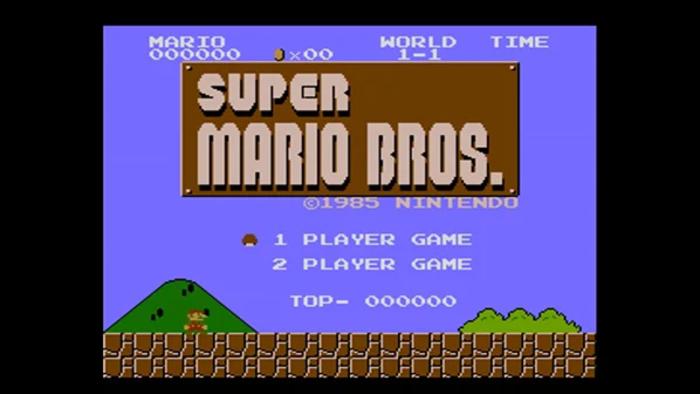 Super Mario Bros. no Nintendo Switch