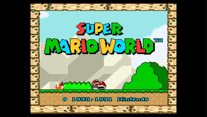 Super Mario World no Nintendo Switch
