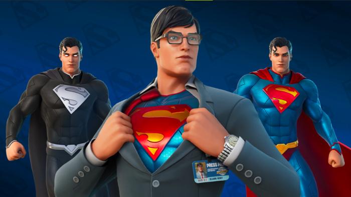 Superman já está em Fortnite (Imagem: Divulgação/Epic Games)