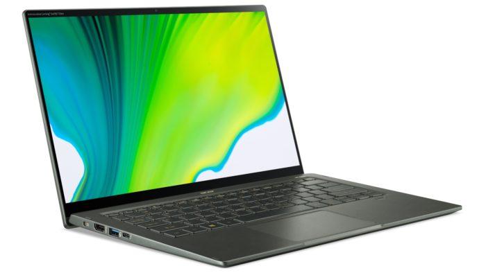 Acer Swift 5 com tecnologia antimicrobiana (Imagem: Divulgação)