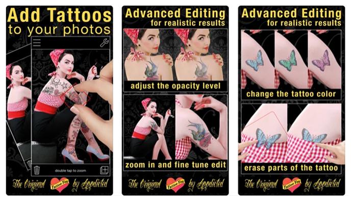 Recursos do Tattoo You (Imagem: Reprodução/Tattoo You)