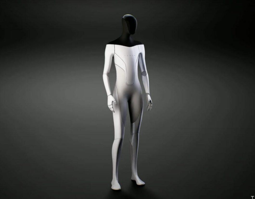 Robô humanoide da Tesla (Imagem: Reprodução/Tesla)