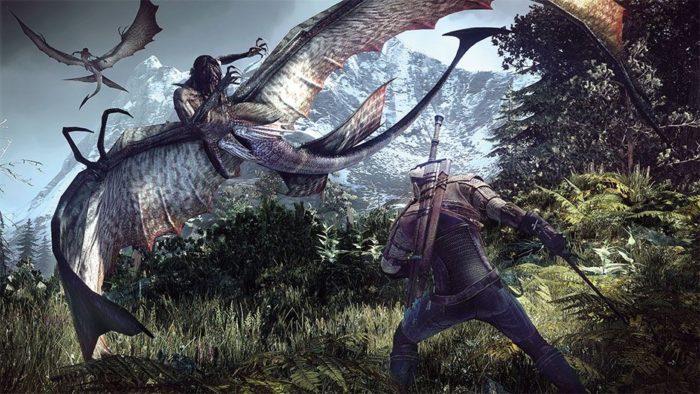 The Witcher é uma série de jogos baseadas em livros