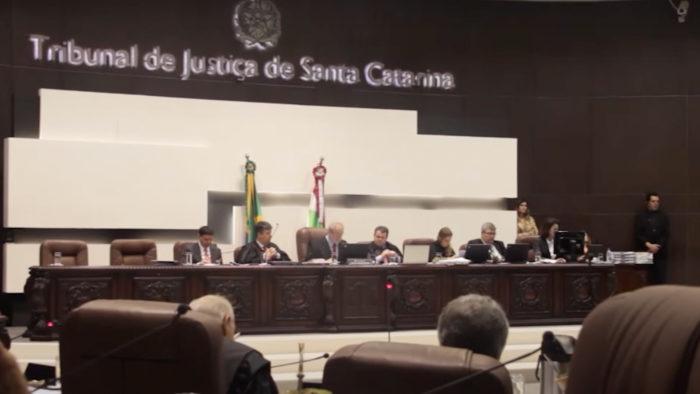 Corte do TJSC (Imagem: TJSC/YouTube)