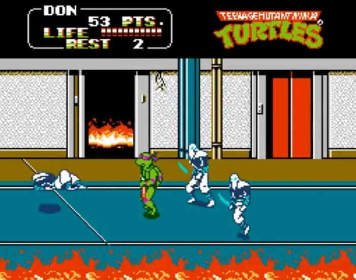 TMNT arcade game