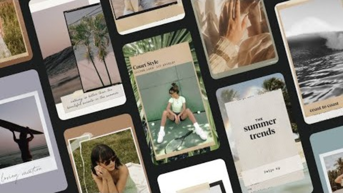 Unfold para criar stories no Instagram
