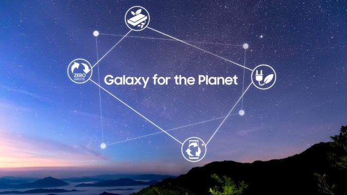 Galaxy for the Planet (Imagem: Divulgação/Samsung)