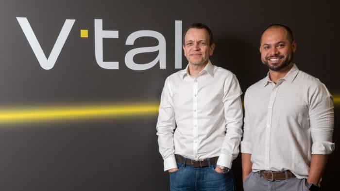 Rodrigo Abreu, CEO of Oi, and Pedro Arakawa, CCO of V.tal