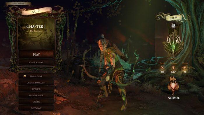 Elfo da floresta em Warhammer: Chaosbane