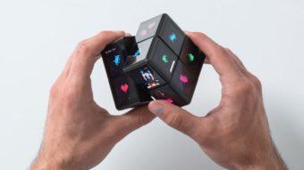 WOWCube é um cubo mágico eletrônico com 24 telas que roda videogames