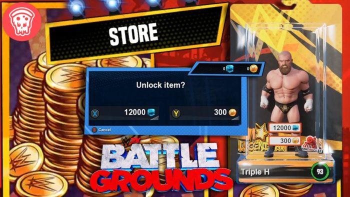 Bucks em WWe 2K Battlegrounds