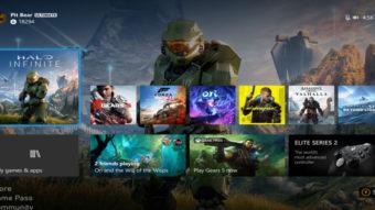 Xbox Series X recebe atualização com dashboard em 4K