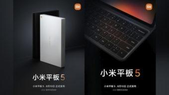Xiaomi adianta detalhes sobre Mi Pad 5 e Mi Mix 4 com câmera sob a tela
