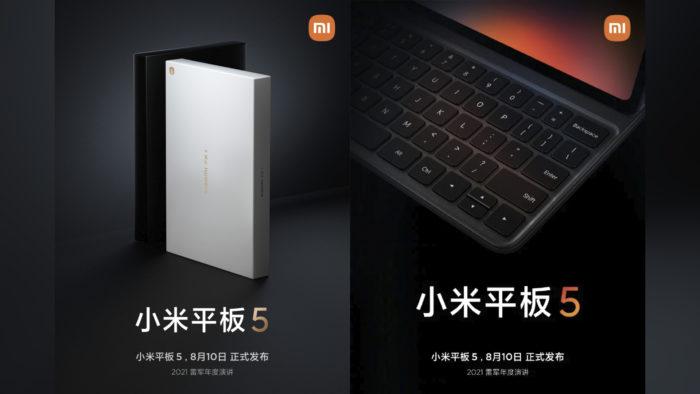 Teaser do Xiaomi Mi Pad 5 (Imagem: Reprodução/Weibo)
