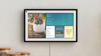 Amazon anuncia Echo Show 15, tela inteligente para ser colocada na parede