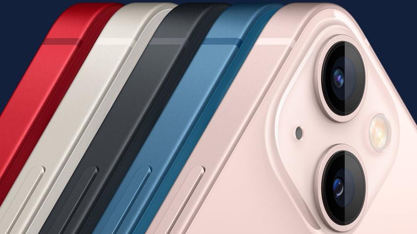 iPhone 13 Mini possui câmera dupla de 12 megapixels (Imagem: Divulgação / Apple)
