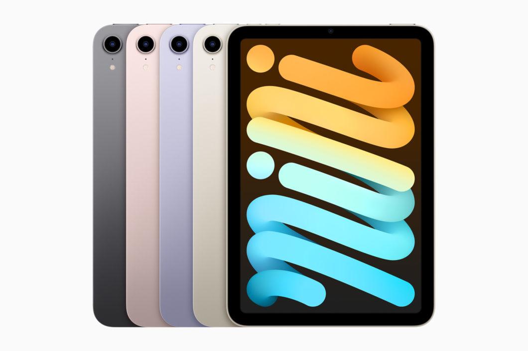 iPad Mini de 6ª geração (Imagem: Reprodução / Apple)