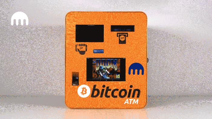 Caixa eletrônico de bitcoin (Imagem: Divulgação/ Kraken)
