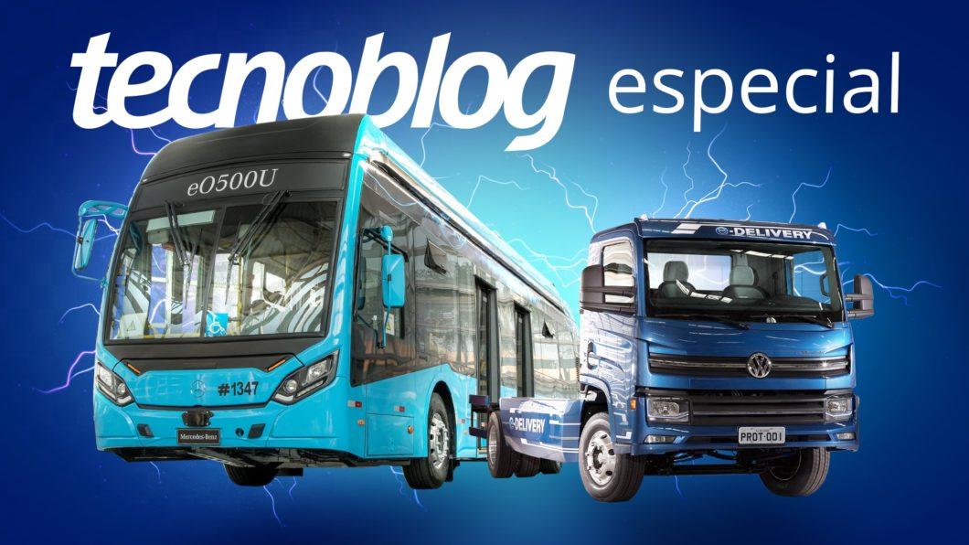 Os caminhões e ônibus que fazem o Brasil avançar em veículos elétricos (imagem: Vitor Pádua/Tecnoblog)