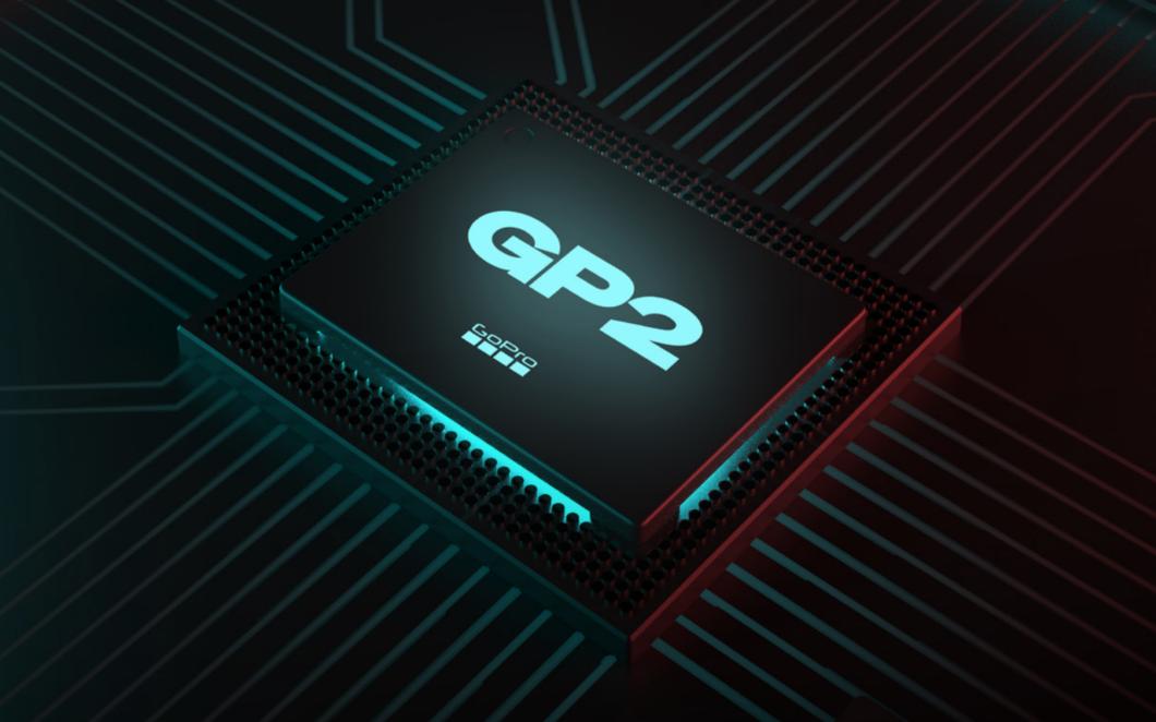 Processador GP2 da GoPro Hero 10 Black (Imagem: Divulgação/GoPro)