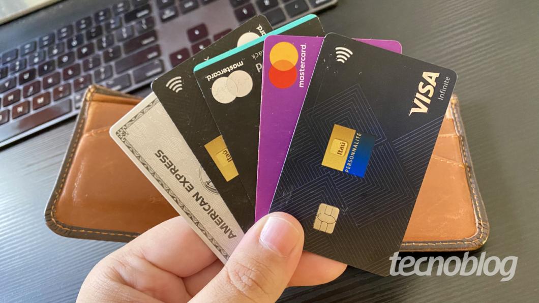 Cartões de crédito: não existe um melhor, cada um tem benefícios diferentes