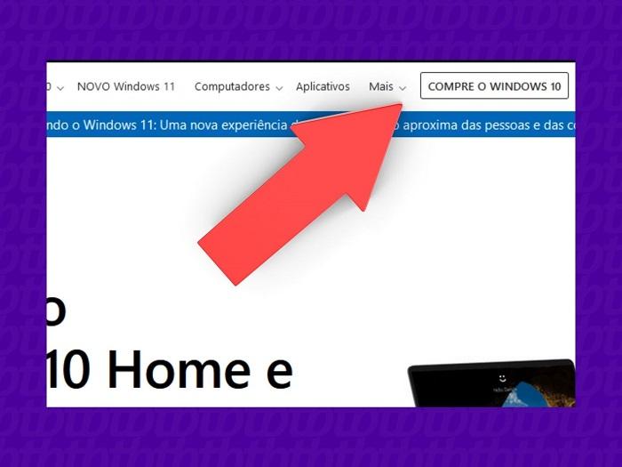 Como comprar uma licença do Windows (Imagem: Leandro Kovacs/Reprodução)