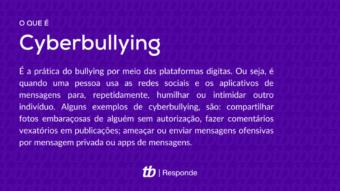 O que é cyberbullying?