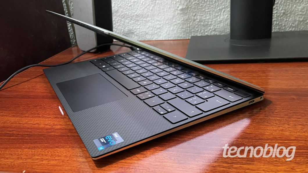 Dell XPS 13 2021 (imagem: Emerson Alecrim/Tecnoblog)