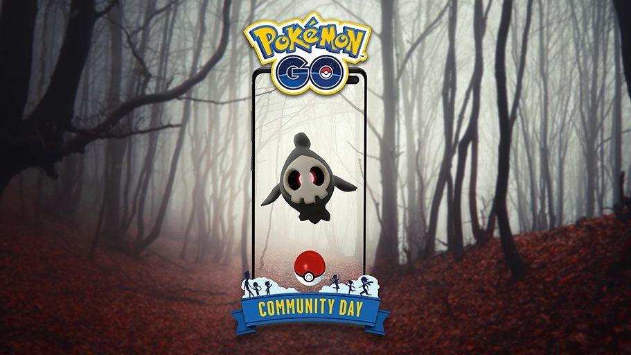 Duskull está no Dia Comunitário de outubro em Pokémon Go (Imagem: Divulgação/Niantic)