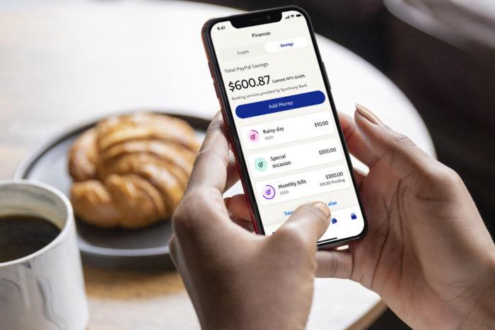 Novo serviço PayPal Savings (Imagem: Divulgação/ PayPal)