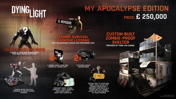 Dying Light: My Apocalypse Edition