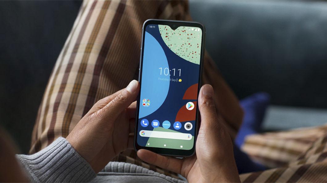 Fairphone 4 está disponível em três opções de cores (Imagem: Divulgação/Fairphone)