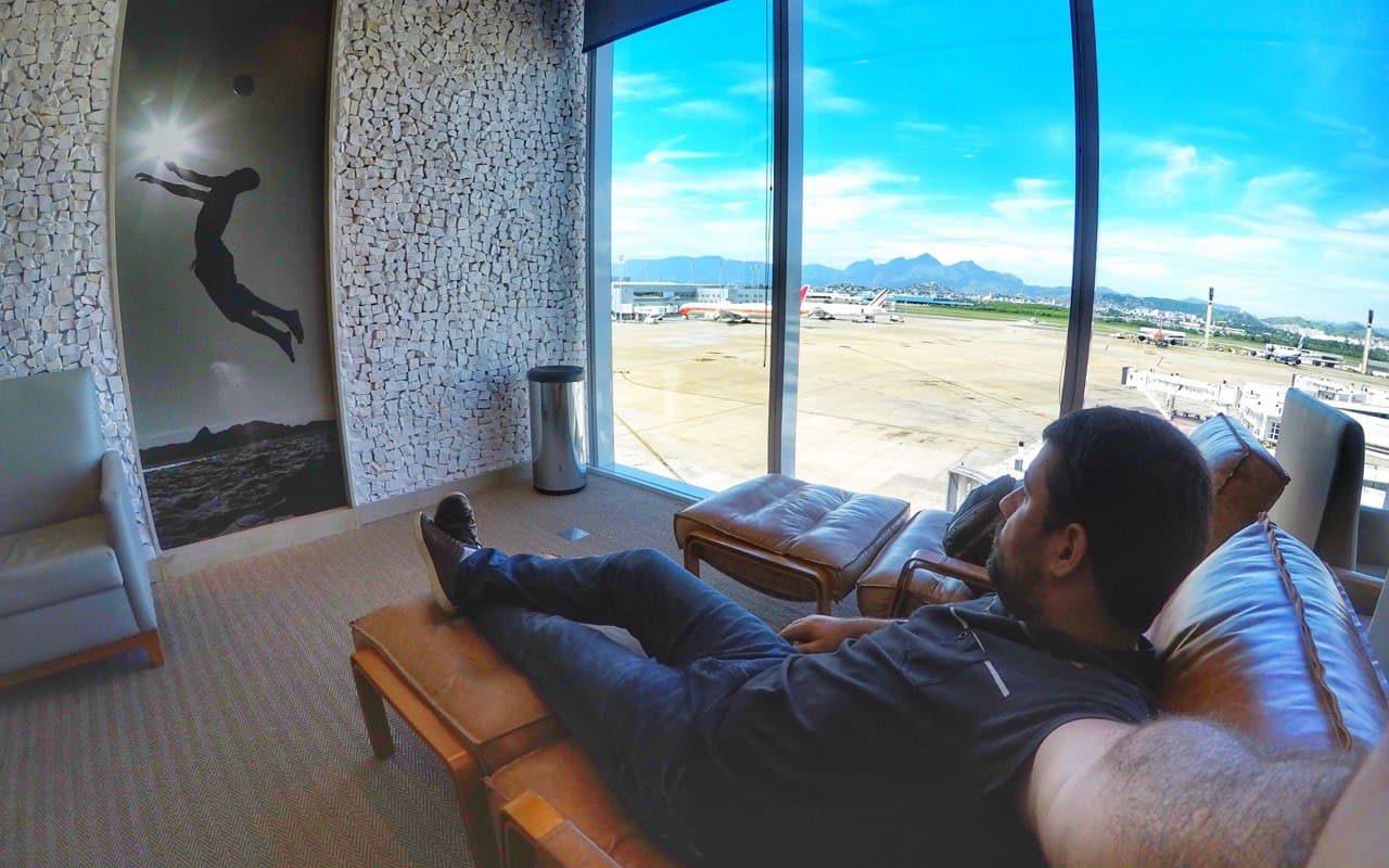 Lounges de aeroporto: cartões de crédito permitem acesso grátis
