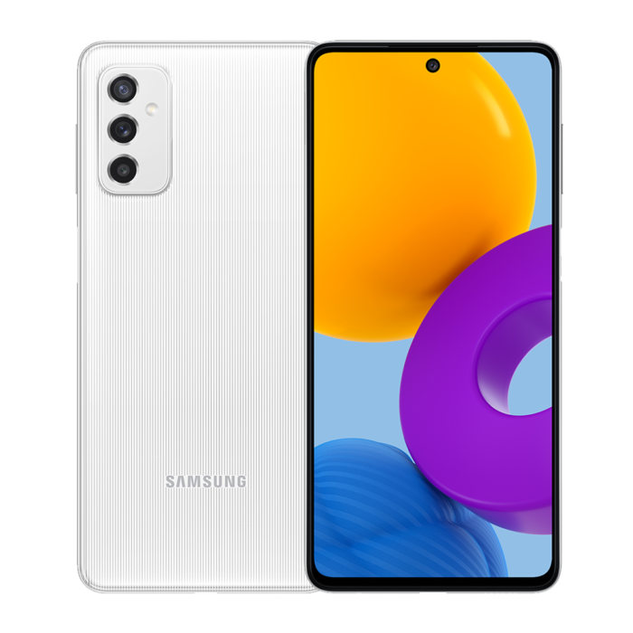 Samsung lança Galaxy M52 5G com câmera tripla de 64 MP e tela de 120 Hz