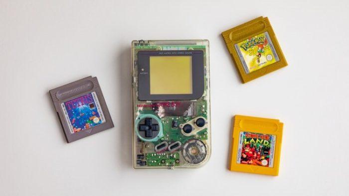 Game Boy é um console portátil