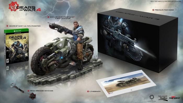 Gears of War 4 edição de colecionador