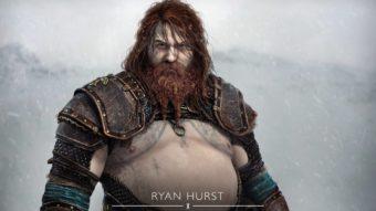 Visual de Thor em God of War Ragnarok em arte oficial divide comentários