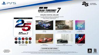 Gran Turismo 7 entra em pré-venda e custa até R$ 450 no PS5