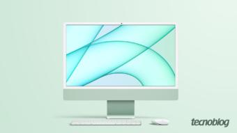iMac de 24 polegadas (Apple M1): que tela é essa?