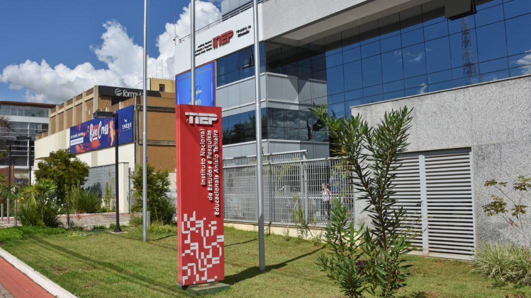 Fachada do Instituto de Nacional de Estudos e Pesquisas Educacionais Anísio Teixeira (Inep)