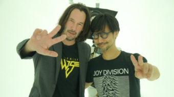 Hideo Kojima promove Matrix 4 no Twitter e fãs pedem jogo com Keanu Reeves