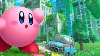 Kirby ganha jogo de mundo aberto com cenário pós-apocalíptico no Switch