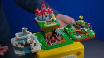 Lego revela novo conjunto de peças com mundo de Super Mario 64
