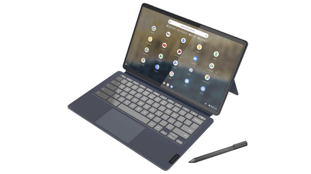 IdeaPad Duet 5 Chromebook é um 2 em 1 da Lenovo com Chrome OS (Imagem: Divulgação/Samsung)