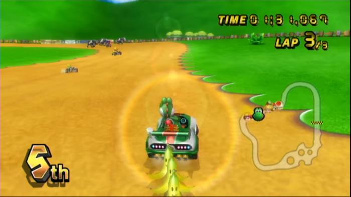 Mario Kart Wii jogo