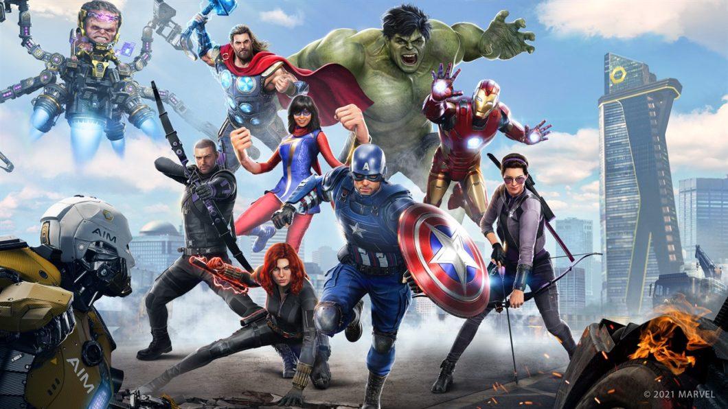 Imagem promocional de Marvel's Avengers