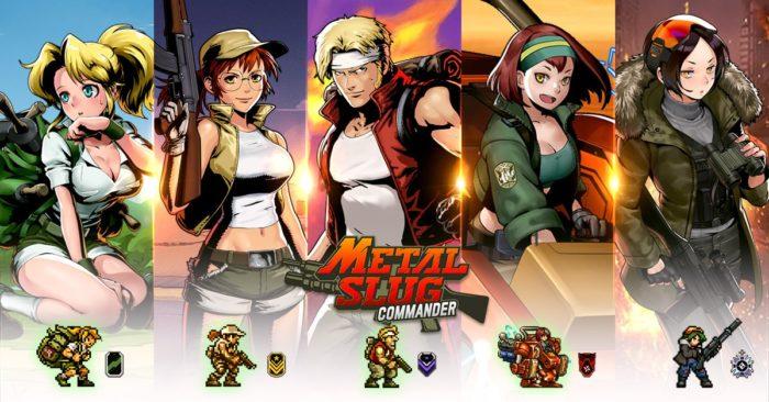 Como jogar Metal Slug Commander