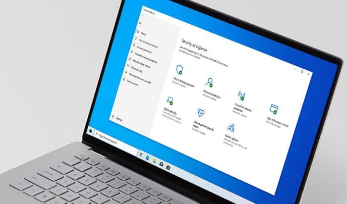 Ferramenta Segurança do Windows (imagem original: Microsoft)
