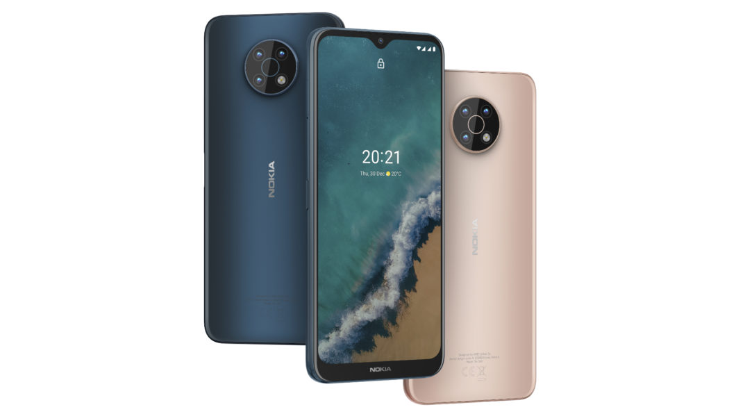 Nokia G50 possui duas opções de cores (Imagem: Divulgação/HMD Global)