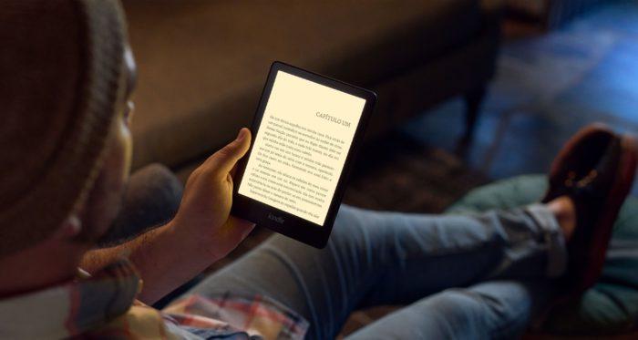 Novo Kindle Paperwhite tem ajuste de temperatura de tela (imagem: divulgação/Amazon)
